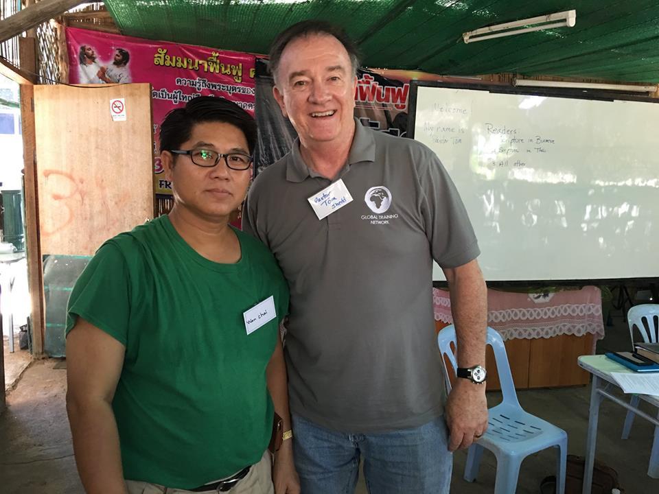 Pastor Tom and Pastor Wun Chai